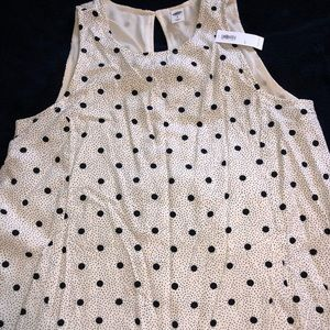 Polkadot sleeveless dress